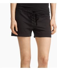 James Perse - Knit Jersey Pajama Short - Lyst