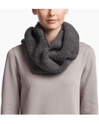 cf32761fd2583 James Perse - Cashmere Fluffy Infinity Scarf - Lyst