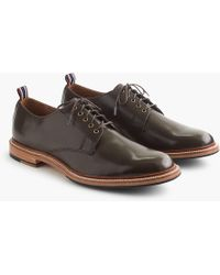 J.Crew - Oar Stripe Italian Leather Derbys - Lyst