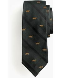 J.Crew - Ludlow Silk Tie In Tiger Print - Lyst