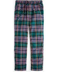 J.Crew - Flannel Pyjama Pant In J. Crew Signature Tartan - Lyst
