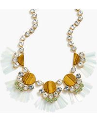 J.Crew Womens Honeycomb Crystal Necklace