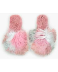 Ariana Bohling - Multi-color Suri Alpaca Slippers - Lyst