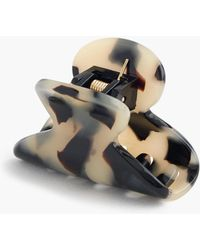 J.Crew - Mini Hair Clip In Italian Tortoise - Lyst