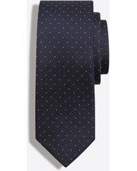J.Crew - Mercantile Silk Pindot Tie - Lyst