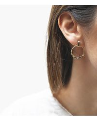 Odette New York - Ridge Post Earrings - Lyst