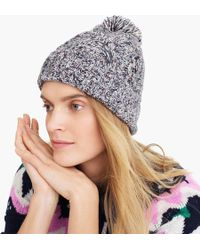 J.Crew - Chunky Donegal Cable-knit Hat - Lyst