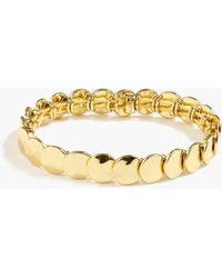 J.Crew - Stacked Circle Stretch Bracelet - Lyst