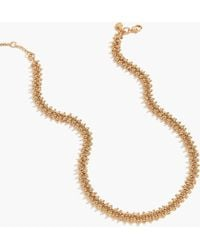 J.Crew - Beaded Necklace - Lyst