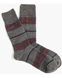 Anonymous Ism - Striped Crew Socks - Lyst