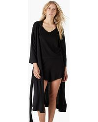 J.Crew - Naadam Khimori Silk-cashmere Travel Robe - Lyst