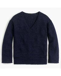 J.Crew - Flared-sleeve Swing Sweater - Lyst