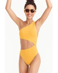 J.Crew - Playa Tilden Cutout One-piece Swimsuit - Lyst