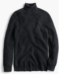 J.Crew - Destination Merino Wool Saddle-sleeve Turtleneck Sweater - Lyst