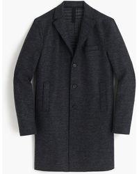 J.Crew - Harris Wharf London Boiled Wool Topcoat In Tartan - Lyst