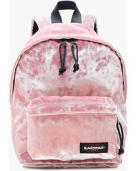 J.Crew - Eastpak Orbit Backpack In Pink Velvet - Lyst