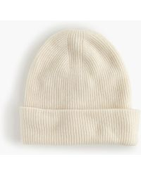 J.Crew - Ribbed Beanie With Cherry Patch - Lyst