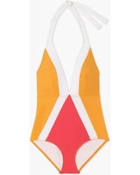 Flagpole Swim - Jade One-piece Swimsuit In Port Bay Orchid - Lyst