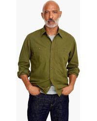 J.Crew - Wallace & Barnes Cotton-hemp Shirt - Lyst