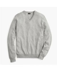 J.Crew - Everyday Cashmere V-neck Sweater - Lyst