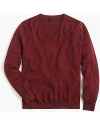 J.Crew - Slim Merino Wool V-neck Jumper - Lyst