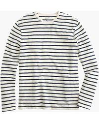 J.Crew - Tall Deck-striped T-shirt - Lyst