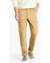 J.Crew - 770 Straight-fit Stretch Cargo Pant In Garment-dyed Herringbone - Lyst