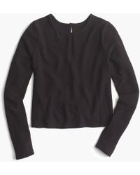 J.Crew - Heathered Long-sleeve T-shirt - Lyst