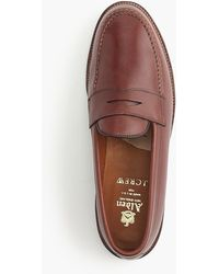 Alden - Penny Loafers - Lyst
