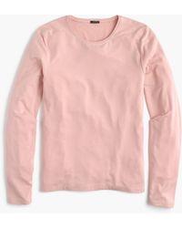 J.Crew - Drapey Long-sleeve T-shirt - Lyst