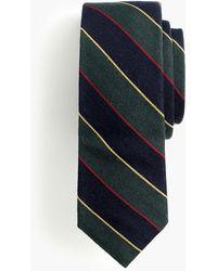 J.Crew - Ludlow Wool Tie In Tartan Stripe - Lyst