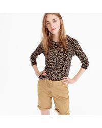 J.Crew - Tippi Sweater In Leopard - Lyst