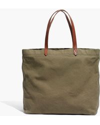 J.Crew - The Madewell Canvas Transport Tote - Lyst