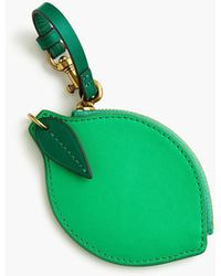 J.Crew - Lime Coin Purse - Lyst