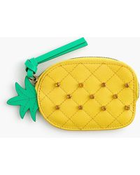 J.Crew - Pineapple Coin Purse - Lyst