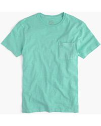 J.Crew - Slim Slub Cotton Garment-dyed T-shirt - Lyst