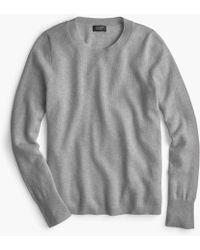 J.Crew - Long-sleeve Everyday Cashmere Crewneck Sweater - Lyst