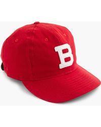 J.Crew Ebbets Field Flannels Homestead Grays Ball Cap in Black for ... eefae59f178d