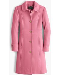 J.Crew - Petite Italian Double-cloth Wool Lady Day Coat With Thinsulate - Lyst