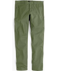 519cd3a44d62f3 J.Crew 484 Slim-fit Lightweight Garment-dyed Stretch Chino in Green for Men  - Lyst
