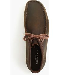 Clarks - Originals Wallabee Boots In Leather - Lyst