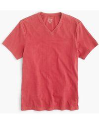 J.Crew - Tall Broken-in V-neck T-shirt - Lyst