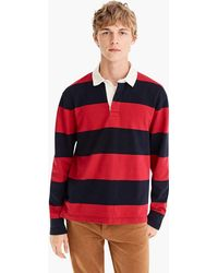 J.Crew - 1984 Rugby Shirt In Gordon Stripe - Lyst