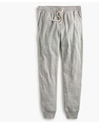 J.Crew - Tall Brushed Fleece Sweatpant - Lyst