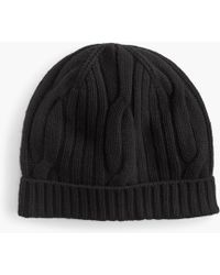 J.Crew - Ribbed Cable-knit Beanie In Everyday Cashmere - Lyst