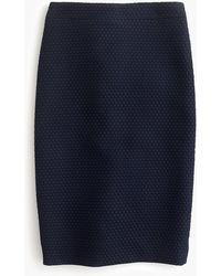 J.Crew - No. 2 Pencil Skirt In Matelasse - Lyst