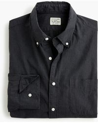 J.Crew - Stretch Secret Wash Shirt In Solid Heathered Poplin - Lyst
