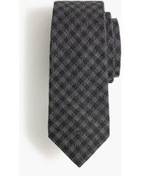 J.Crew - Ludlow Silk Tie In Houndstooth Check - Lyst