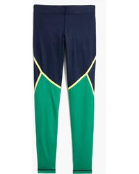 J.Crew - New Balance Trinamic Leggings In Striped Colorblock - Lyst