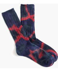 Anonymous Ism - Tie Dye Crew Socks - Lyst